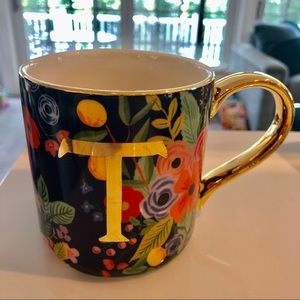 Anthropologie Kitchen - Rifle Paper Co. for Anthropologie Monogram Mug